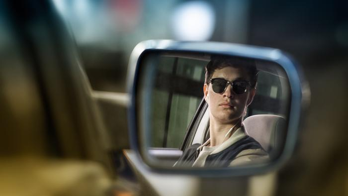 He was a perfect choice to play a guy, who drives like crazy.